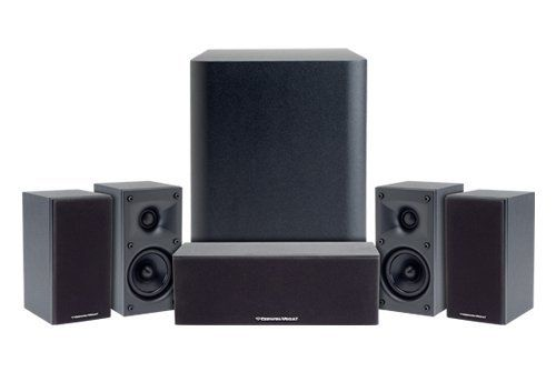 "Cerwin-Vega CMX5.1 Home Theater Package w/ 8"" Subwoofer by Cerwin Vega. $499.00. We NEVER sell refurbished products. All items in this listing are brand new.Model CMX 5.1 Home Theater Speaker System is designed to fill a room with sound while blending unobtrusively with the decor. Provides excellent sound, legendary power, and great bass output in a compact system. System includes (1) Center Channel Speaker, (1) 8in Subwoofer and (4) Satellite Speakers. This system is ..."