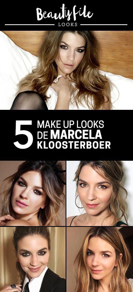 5 Looks de maquillaje de Marcela Kloosterboer para inspirarte creados por Bettina Frúmboli y su staff