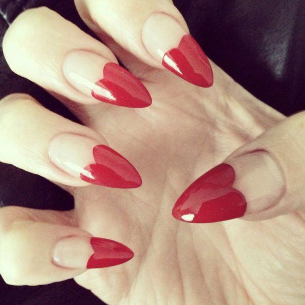 Heart Nail Art: 25+ Best Ideas About Heart Nails On Pinterest