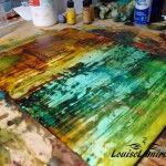 Recette de cire en pâte pour la peinture à la cire froide et à l'huile