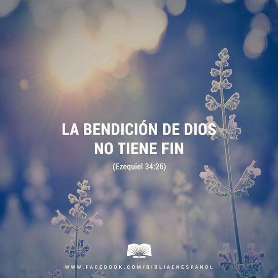 Yo pondré a mis ovejas alrededor de mi monte santo, y las bendeciré; les enviaré lluvias de bendición en el tiempo oportuno. - Ezequiel 34:26: