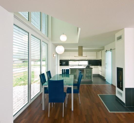 Fertighaus Wohnidee Küche und Esszimmer VENTUR 150 Wohnideen - küche mit esszimmer