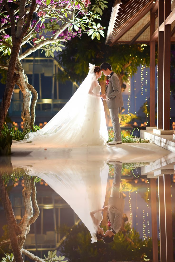 17時挙式 挙式後撮影 #wedding #bali