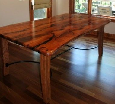 custom made mesquite dining table | tables | pinterest | tables