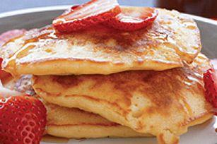 Pleasin' Peanut Pancakes recipe