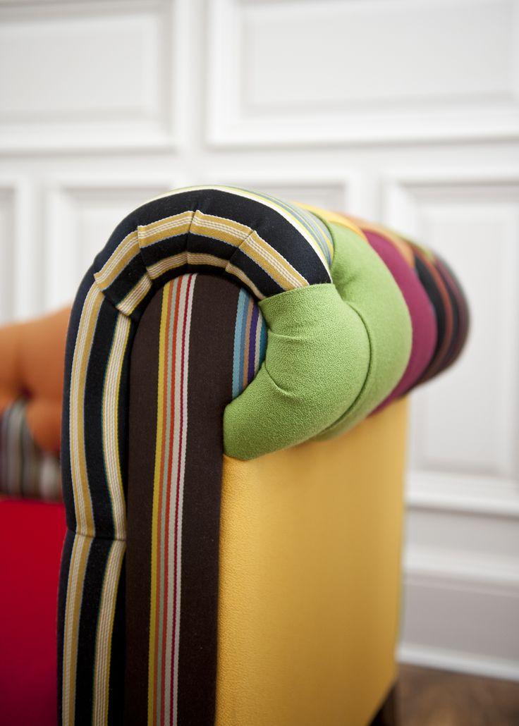 #couch #sofa #DeliciousAlchemy #office #officedesign #decor #interiordesign #furniture #chair #multicoloured