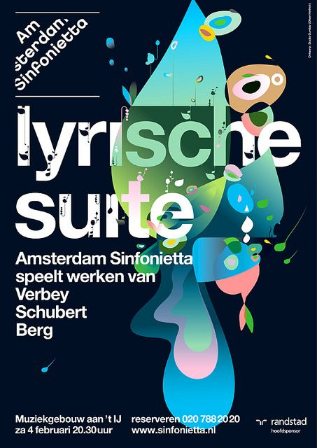 Sinfonietta / Dumbar / Ties Alfrink #posterdesign, #graphicdesign, #typography…
