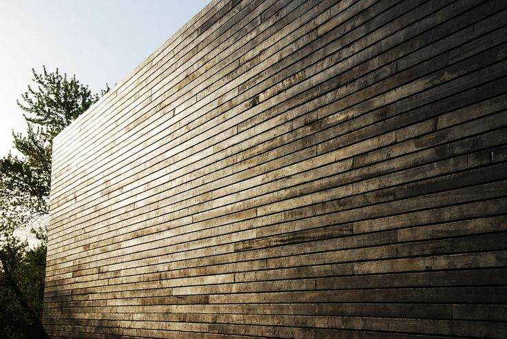 """contemporary exterior shou sugi ban  Ivon Street Studio I'd recommend installing it over a rainscreen of 1x battens, which leaves a 3/4"""" air gap behind the siding. The air gap will provide a place to relieve any heat gain."""