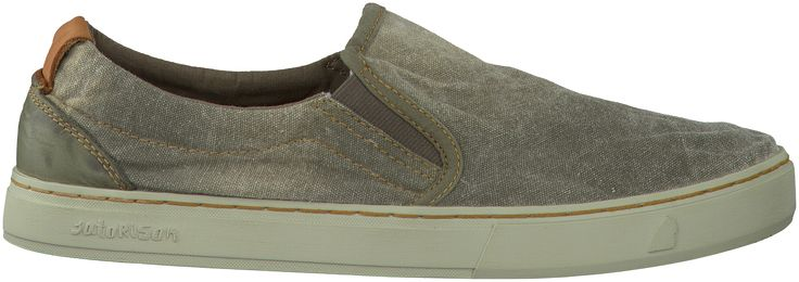 Khaki Satorisan Slip-on sneakers 151015 HEREN