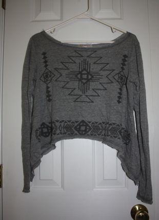 Buy my item on #vinted http://www.vinted.com/womens-clothing/crop-tops/20975775-long-sleeve-aztec-crop-top