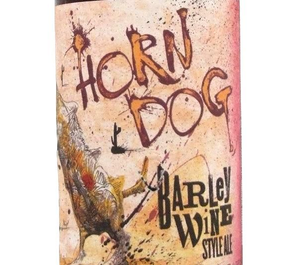 Flying Dog Horn Dog Barley Wine 355ml Beer in New Zealand - http://www.italianbeer.co.nz/beer-from-italia-in-nz/flying-dog-horn-dog-barley-wine-355ml-beer-in-new-zealand/ #Italian #beer #NewZealand