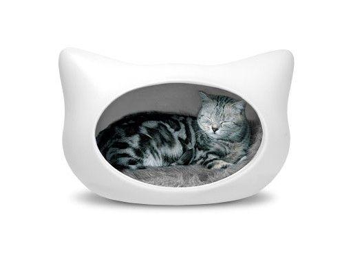 Cat Head Cat Bed — Cat -- Better Living Through Design