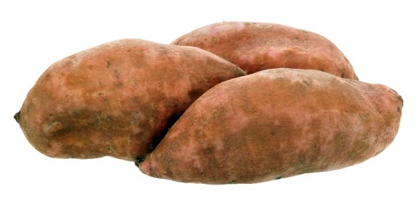 Sweet taters - Wash 'em, cover 'e w/ water, boil  'em till they're tender.  You'll never bake 'em again.