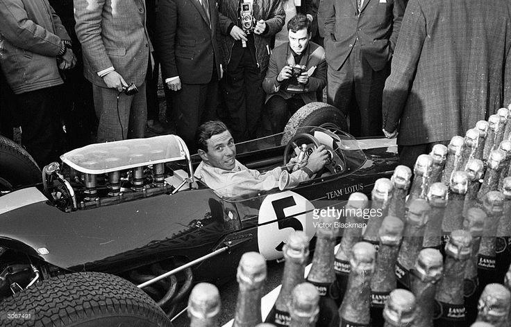 British motor racing champion Jim Clark , the Formula One World...