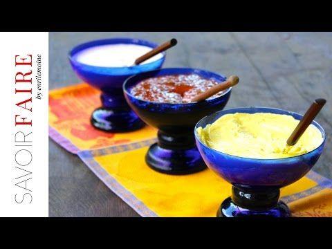 Savoir Faire: Alioli, crema de chipotle y salsa de guayaba y jalapeño (VIDEO)