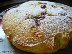 torta morbida alla marmellata