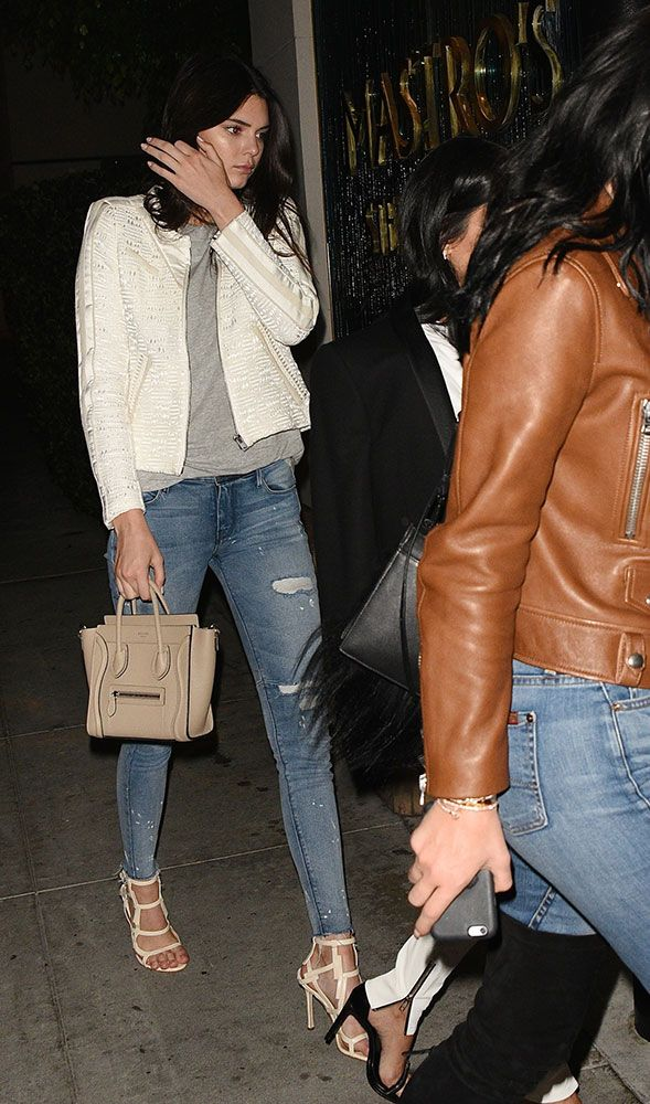 Kendall Jenner Celine Nano Luggage Tote 4 Investments The Bag Lady Is Fabulous On Runway Or Streets In 2018