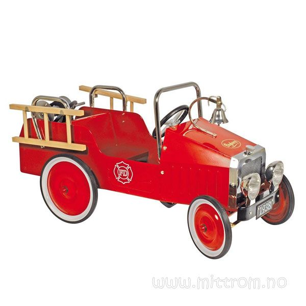 Baghera tråbil, Brannbil