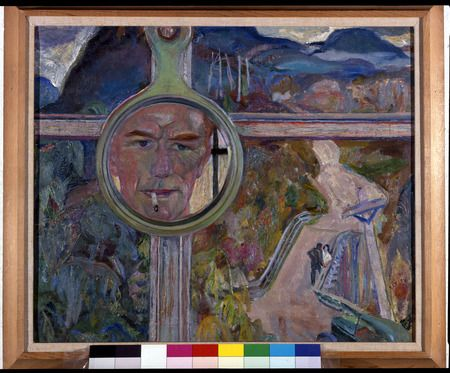Mirror of Thought by Varley, Frederick Horsman