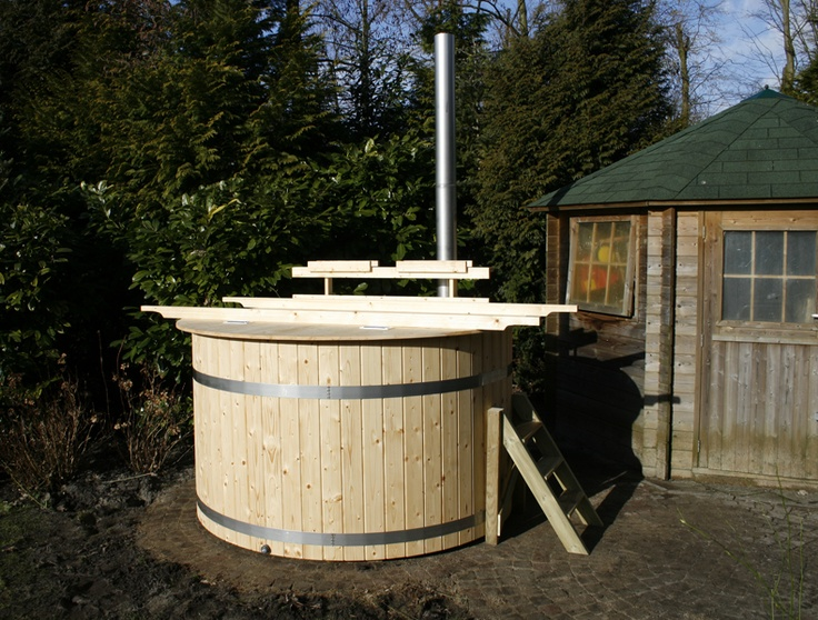 17 images about diy hottub anyone on pinterest rocket for Wood burning spa