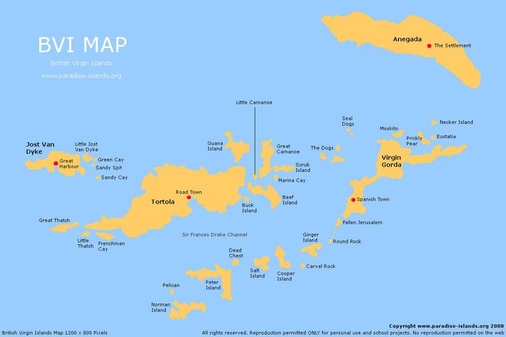 british virgin island address listings