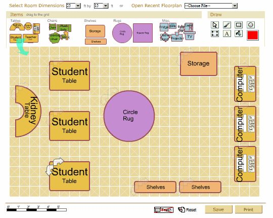 Classroom Design And How It Influences Behaviour ~ Classroom layout ideas primary school room setup the