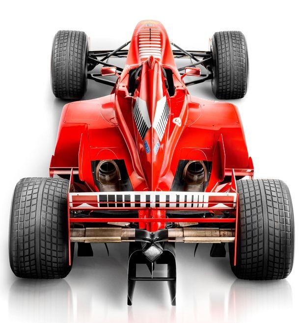 Michael Schumacher's Ferrari F300 photographed by Blair Bunting