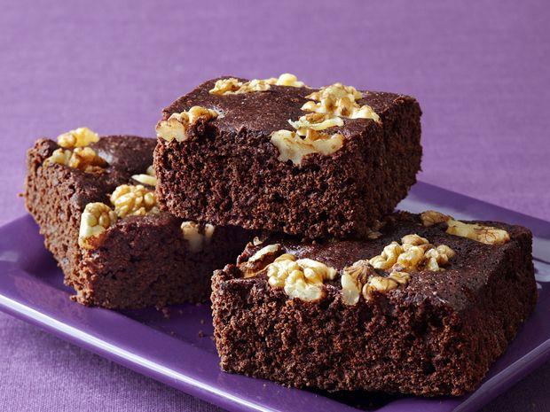 Ellie Krieger's Double-Chocolate Brownies recipe from Ellie Krieger via Food Network