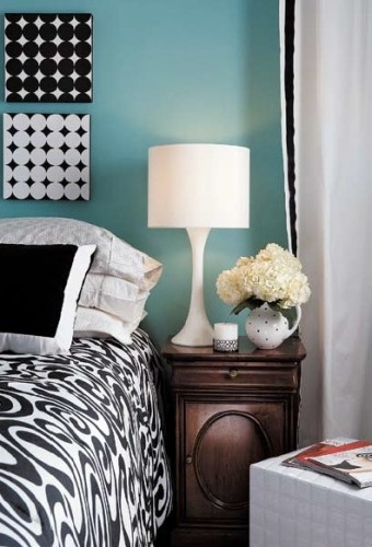 Black, white, & blueDecor Style, Decor Ideas, Canvas Covers, Apartments Ideas, Black And White, Room Ideas, Black White, White Prints