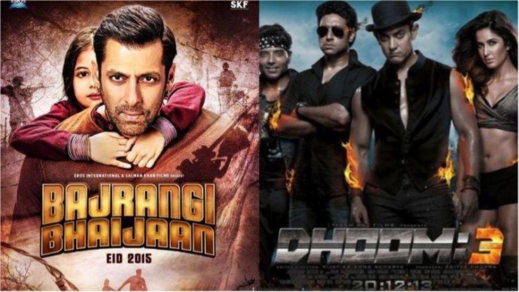 'Bajrangi Bhaijaan' Races Ahead Of 'Dhoom 3'!