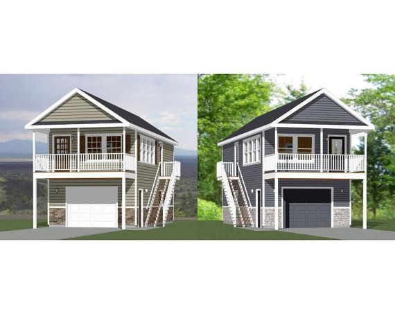 16x36 1 Bedroom Tiny Houses 2 Separate Plans 29 99 Each