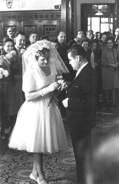1963. Valentina Tereshkova and Andriyan Nikolayev.
