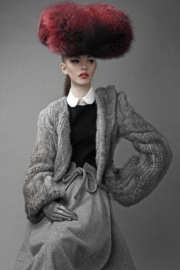 Model: Astrid | Photographer Bo Brinkenfalk - for Schön Magazine.  Wow, this is a beautiful photograph.