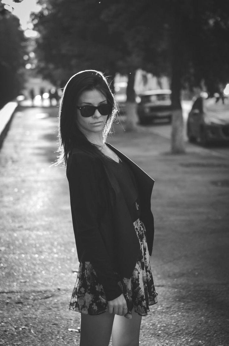 Nastya B&W portrait by Alex Polyakoff on 500px