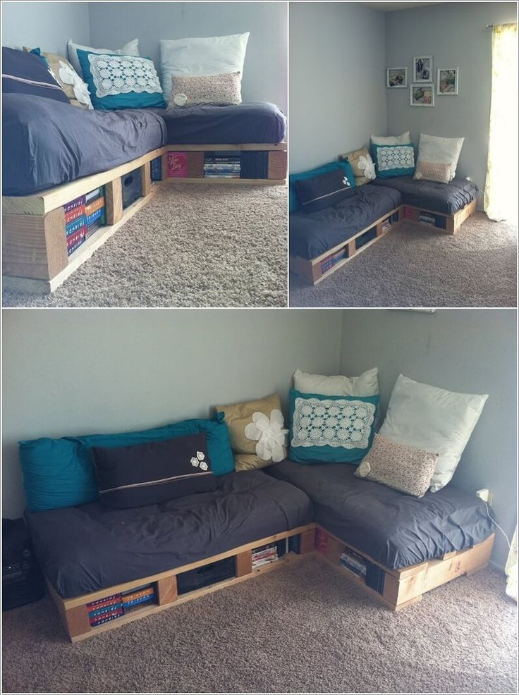 Mejores 585 imágenes de diy beds, daybeds & non-upholstered ...