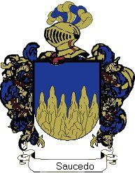 Saceruela: Escudos de los apellidos mas comunes de Saceruela