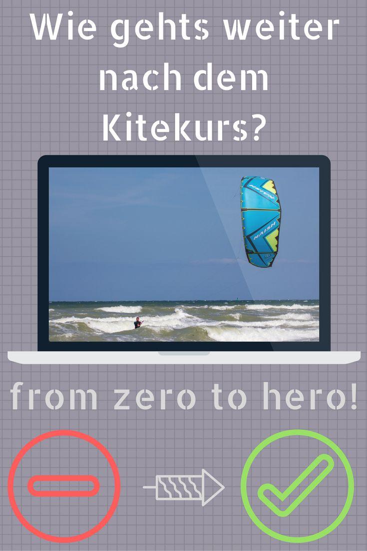Wie geht es weiter nach dem Kitekurs? Hier erfährst du wie du nach dem Kitekurs schneller Fortschritte machen kannst und wo du das beste Lernmaterial findest.  #kiteboarding #kitekurs #kiteshop https://www.kite-team.de/kite-blog/nach-dem-kitekurs-so-verbesserst-du-deine-kitesurf-skills/