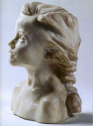 La Petite Châtelaine by Camille Claudel (1895)