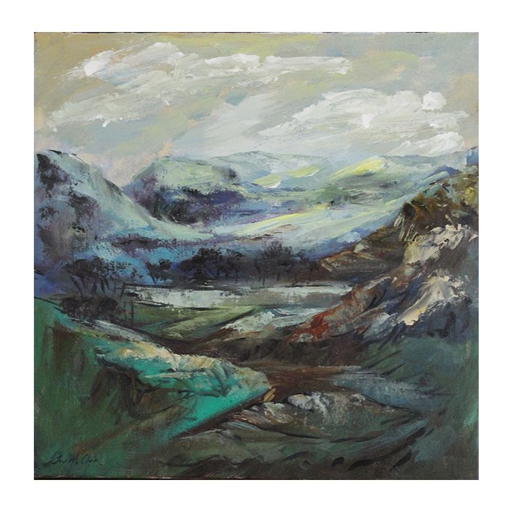 Joy Clark - Dreamland.  Joy Clark was born in Namibia and currently resides in Kini Bay, Port Elizabeth, Eastern Cape, South Africa.  She is known for her atmospheric impressionistic paintings. https://www.imagineart.co.za/shop/clark_joy_dreamland/