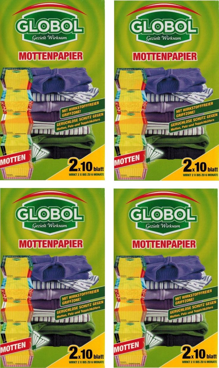 Beautiful Mottenschutz Papier Packungen monate Langzeitwirkung Mottenpapier Globol bestellen Mottenschutz f r Kleiderschrank