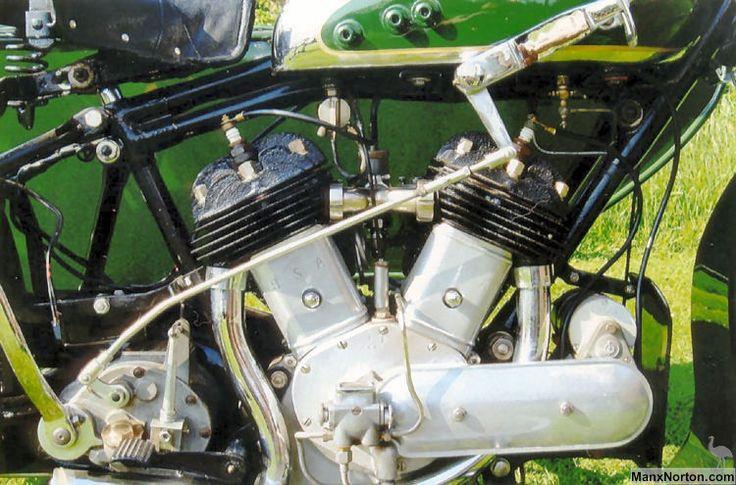 bsa engine | BSA-1934-G34-Outfit-engine.jpg