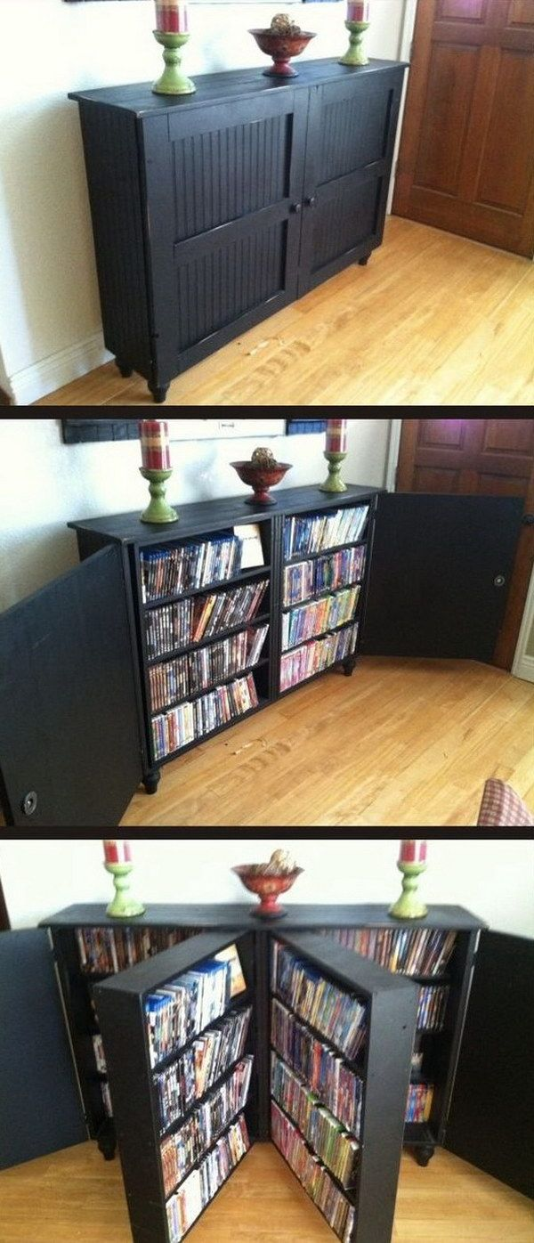 Best 25+ Dvd rack ideas on Pinterest | Disco cd, DIY crafts desk ...