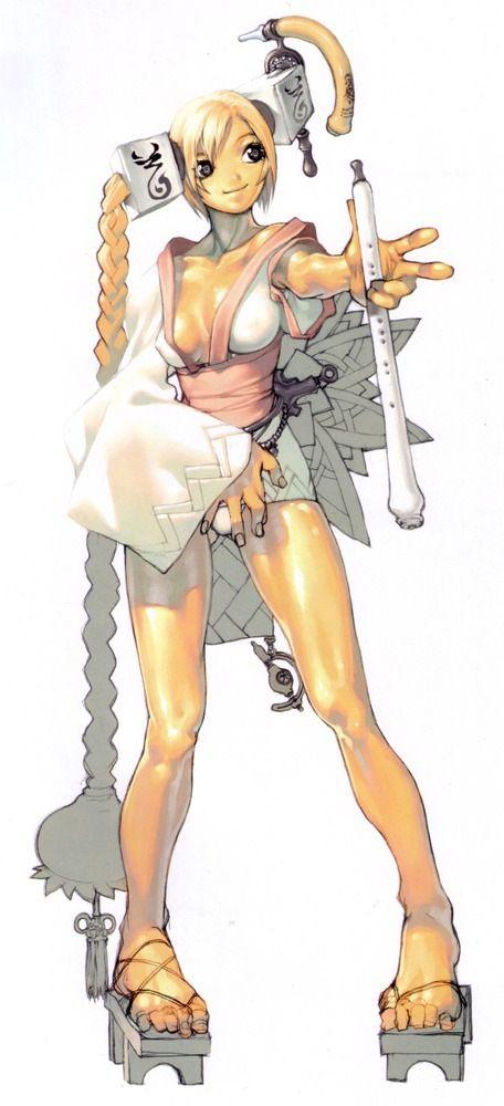 Anime Girl With Knives Magna Carta Warrior Hd x