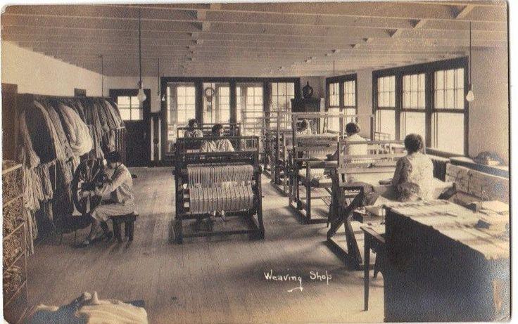 Arden Delaware weaving shop