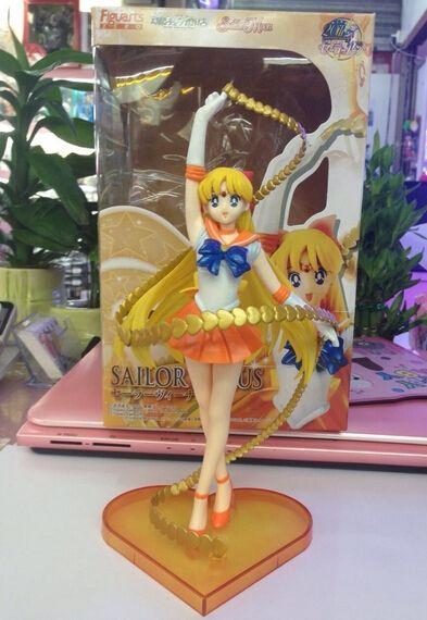 612.00$  Buy here - http://ali5j5.shopchina.info/go.php?t=32423329709 - Manufacturer 36pcs Anime Sailor Moon Venus action pvc figure toy tall 19cm in box via EMS. 612.00$ #buyonline