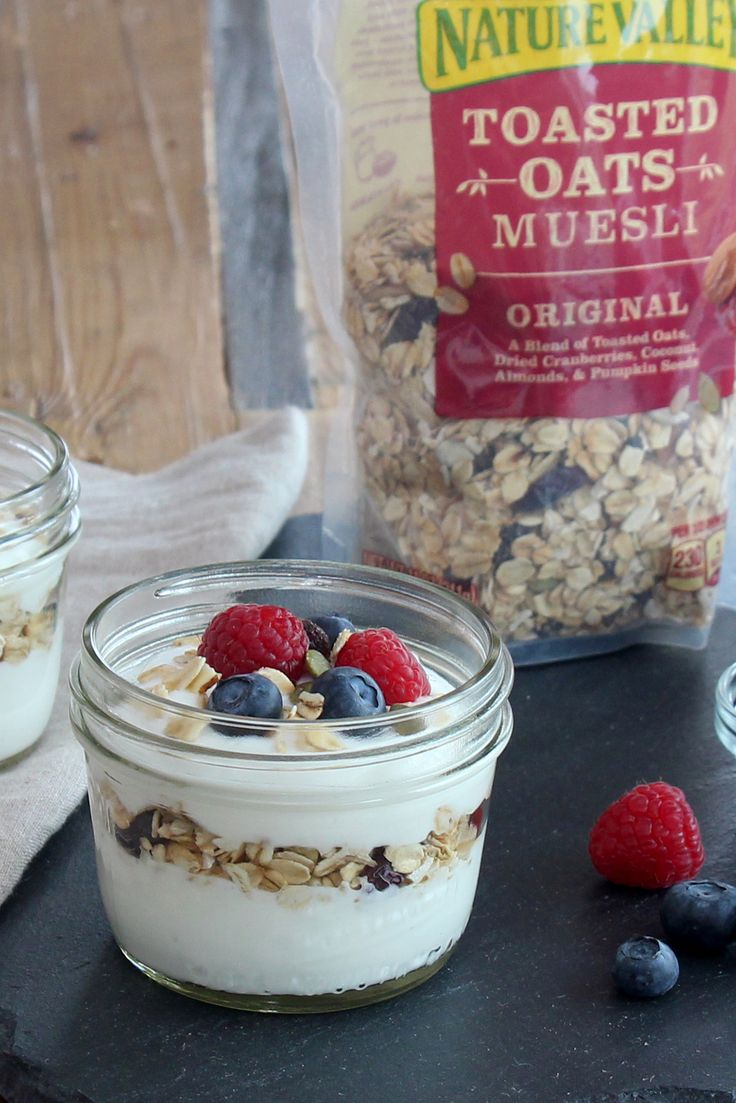 Fill Your Spoons With A Pretty Coconut Greek Yogurt Parfait! To Make, Layer  Yoplait