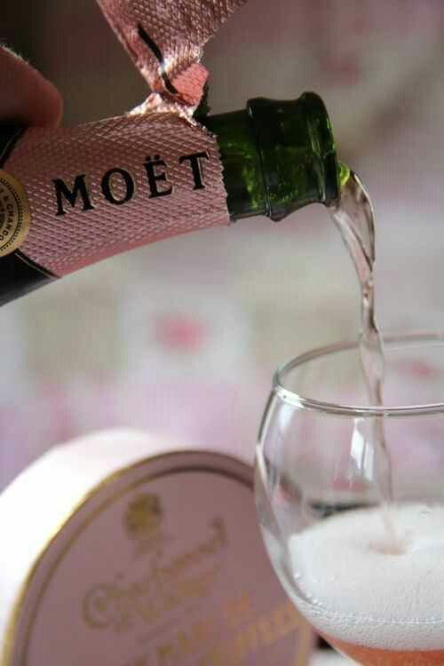 Pink Champagne.  Does it get more elegant than that?