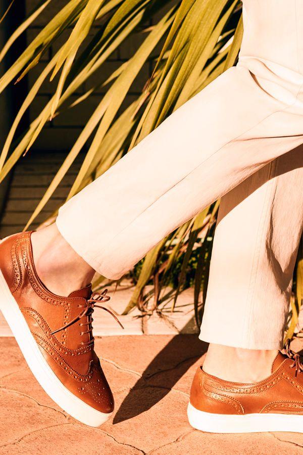Walking Away: Calçado de verão! #Walking #Away: #Calçado de #verão / #Ténis #pele #sola #leve #cortefiel