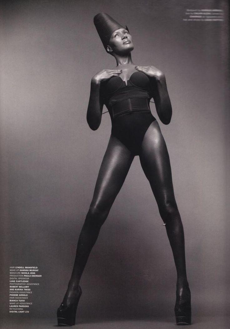 Grace Jones - Jamaica http://www.islandorigins.tv
