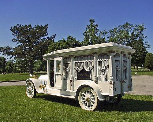 1921 Ford Model T Hearse....Elaborate..